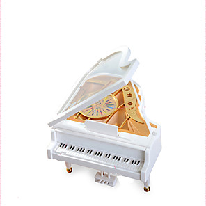 cheap Music Boxes-Music Box Music Jewelry box Piano Unique Plastic Women's Girls' Kid's Adults Graduation Gifts Toy Gift