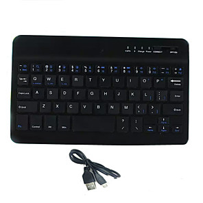 cheap iPad Keyboards-LITBest mini Bluetooth Office Keyboard Mini Size Quiet 59 pcs Keys