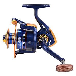 cheap Fishing Reels-Fishing Reel Spinning Reel 5.21 Gear Ratio+12 Ball Bearings Hand Orientation Exchangable Bait Casting / Ice Fishing / Spinning - FH1000, FH2000 / Freshwater Fishing / Carp Fishing / Bass Fishing