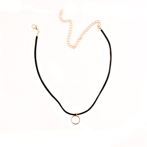 cheap Necklaces-Women's Choker Necklace Personalized Basic Simple Style Fashion Copper Gold Necklace Jewelry For Party Special Occasion Business Daily Casual Sports