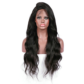 cheap Human Hair Wigs-premier body wave lace front human hair wigs glueless 130 density 100 unprocessed brazilian virgin remy full lace wigs with baby hair for woman