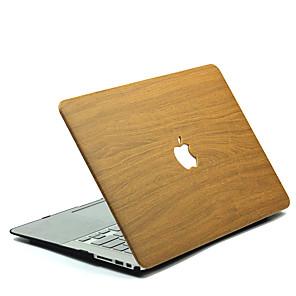 cheap Mac Accessories-MacBook Case wood grain Polycarbonate for MacBook 12'' / MacBook 13'' / MacBook Air 11''