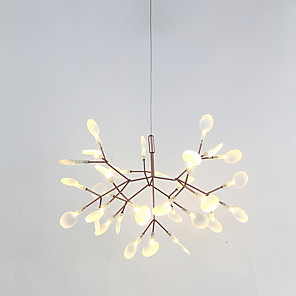cheap Ceiling Lights-58 cm LED Chandelier Metal Sputnik Painted Finishes Modern Contemporary 110-120V / 220-240V