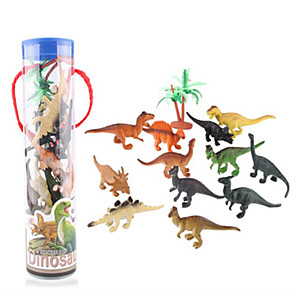 cheap Amplifiers & Effects-Dragon & Dinosaur Toy Dinosaur Figure Triceratops Jurassic Dinosaur Velociraptor Tyrannosaurus Rex Plastic Kid's Party Favors, Science Gift Education Toys for Kids and Adults