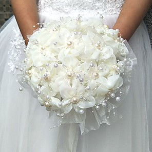 cheap Favor Holders-Wedding Flowers Bouquets / Others / Artificial Flower Wedding / Party / Evening Material / Lace 0-20cm