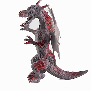 cheap Animal Action Figures-Dragon & Dinosaur Toy Model Building Kit Dragons Triceratops Dinosaur Figure Jurassic Dinosaur Tyrannosaurus Rex Plastic Kid's Party Favors, Science Gift Education Toys for Kids and Adults