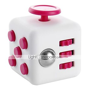 cheap Magic Cubes-Fidget Desk Toy Fidget Cube for Killing Time Stress and Anxiety Relief Focus Toy Office Desk Toys Relieves ADD, ADHD, Anxiety, Autism Kid's Adults' Boys' Girls' ABS