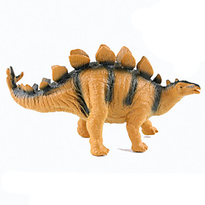 cheap Amplifiers & Effects-Dragon & Dinosaur Toy Dinosaur Figure Triceratops Jurassic Dinosaur Stegosaurus Tyrannosaurus Rex Silicone Plastic Kid's Party Favors, Science Gift Education Toys for Kids and Adults