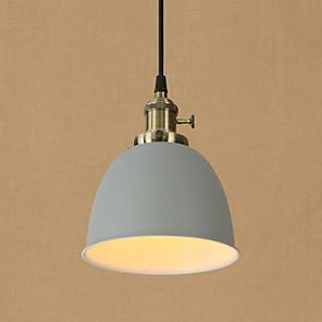 cheap Pendant Lights-1-Light 16.5 cm Mini Style / Eye Protection / Designers Pendant Light Metal Bowl Painted Finishes Retro 110-120V / 220-240V
