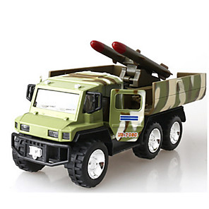 cheap Building Blocks-Toy Car Pull Back Vehicle Military Vehicle Train Chariot Unisex Toy Gift / Metal