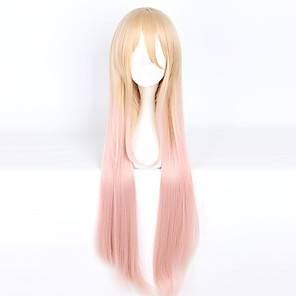 cheap Costume Wigs-Cosplay Cosplay Cosplay Wigs Men's Women's 40 inch Heat Resistant Fiber Anime Wig