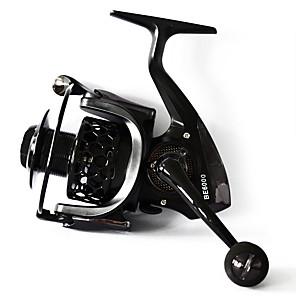 cheap Fishing Lures & Flies-Spinning Reel 4.7:1-5.5:1 Gear Ratio+13 Ball Bearings Hand Orientation Exchangable General Fishing - BE6000