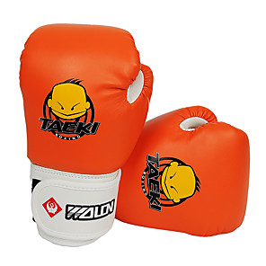 cheap Projectors-Boxing Bag Gloves Boxing Training Gloves For Boxing Sanda Full Finger Gloves Lightweight Warm Adjustable / Retractable Orange Green Red