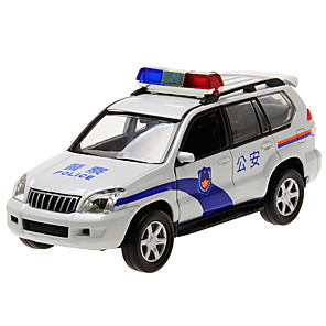 cheap Toy Cars-CAIPO 1:32 Toy Car Model Car Police car SUV Classic Simulation Music & Light Mini Car Vehicles Toys for Party Favor or Kids Birthday Gift / Kid's