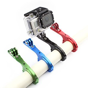 cheap Accessories For GoPro-Handlebar Mount Adjustable For Action Camera Gopro 6 All Gopro Bike / Cycling Aluminium Alloy