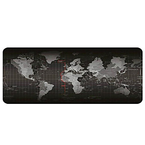 cheap Mouse Pad-Gaming Mouse Pad - Portable Large Desk Pad - Non-slip Rubber Base World Map Mouse Pad(30x80x0.2cm)