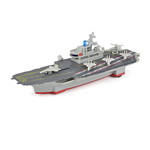 cheap Building Blocks-Model Building Kit Aircraft Carrier for Kid's Unisex Boys' Girls'