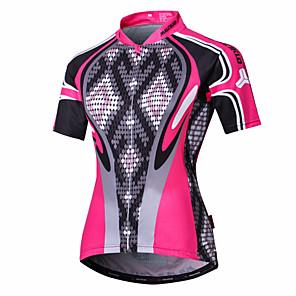 cheap Cycling Jerseys-Malciklo Women's Cycling Jersey Bike Jersey Clothing Suit Sports Polyester Coolmax® Snake Mountain Bike MTB Road Bike Cycling Clothing Apparel / Quick Dry / Anatomic Design / High Elasticity