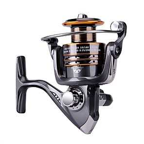 cheap Fishing Reels-Fishing Reel Spinning Reel / Carp Fishing Reels / Ice Fishing Reels 5.2:1 Gear Ratio+13 Ball Bearings Hand Orientation Exchangable Sea Fishing / Bait Casting / Ice Fishing - HA3000 / Bass Fishing