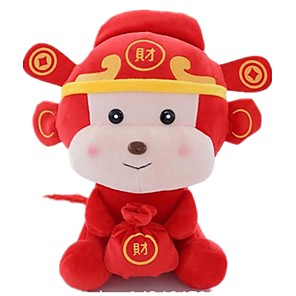 cheap Stuffed Animals-Stuffed Animal Pillow Plush Toys Plush Dolls Stuffed Animal Plush Toy Monkey Fun Sponge Imaginative Play, Stocking, Great Birthday Gifts Party Favor Supplies Unisex Kid's