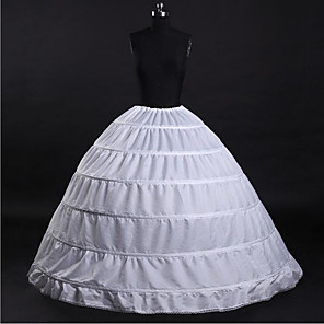 cheap Wedding Slips-Wedding / Anniversary / Party / Evening Slips Taffeta / Tulle Floor-length Traditional / Vintage / Basic / Classic & Timeless with