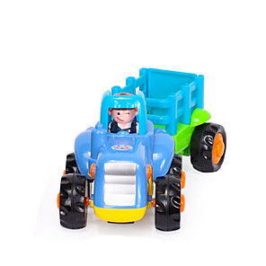 cheap Toy Cars-HUILE TOYS Farm Vehicle Large Size Plastics Mini Car Vehicles Toys for Party Favor or Kids Birthday Gift / Kid's