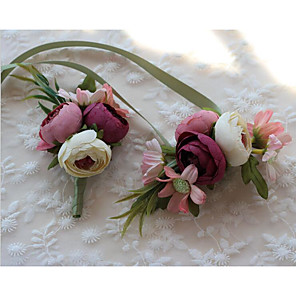 "cheap Party Sashes-Wedding Flowers Boutonnieres Wedding Spandex 4.72""(Approx.12cm)"