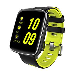 abordables Bracelets Intelligents-Montre Smart Watch Ecran Tactile Moniteur de Fréquence Cardiaque Etanche Calories brulées Pédomètres Enregistrement de l'activité
