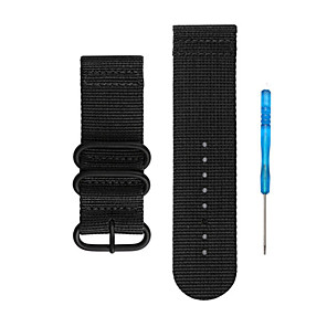 cheap Smartwatch Bands-Watch Band for Fenix 5x / Fenix 3 Garmin Sport Band Nylon Wrist Strap