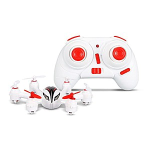 cheap RC Drone Quadcopters & Multi-Rotors-RC Drone WLtoys Q272 4CH 6 Axis 2.4G RC Quadcopter LED Lights / Failsafe / Headless Mode RC Quadcopter / Remote Controller / Transmmitter / USB Cable