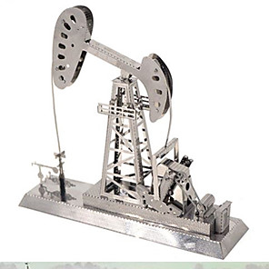 cheap 3D Puzzles-3D Puzzle Jigsaw Puzzle Metal Puzzle Tower Famous buildings Eiffel Tower Metalic Iron Aluminium Kid's Adults' Unisex Boys' Girls' Toy Gift