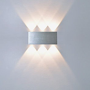 cheap Flush Mount Wall Lights-LED Wall Lamps & Sconces Metal Wall Light 110-120V / 220-240V 1 W / LED Integrated