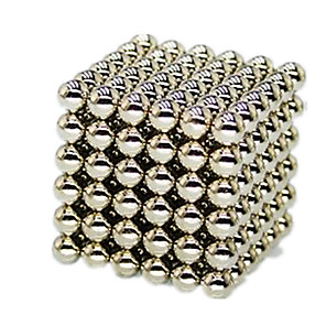 cheap Human Hair Capless Wigs-216 pcs 5mm Magnet Toy Building Blocks Super Strong Rare-Earth Magnets Neodymium Magnet Puzzle Cube Alloy Magnetic Adults' Boys' Girls' Toy Gift