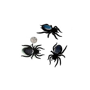 cheap Toy Cars-Solar Powered Toy Insect Spider Solar Powered DIY ABS Teen Party Favors, Science Gift Education Toys for Kids and Adults / 14 years+