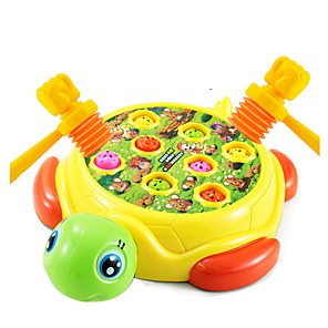 cheap Building Blocks-Gopher Game Whac-a-mole Plastics Wood Fun Cool Electric Large Size Kid's Toys Gifts
