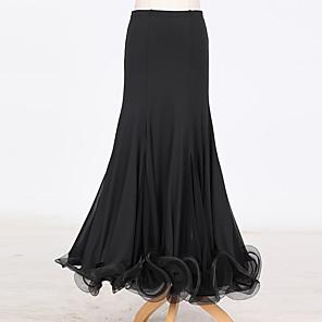 povoljno Svečana plesna odjeća-Klasični plesovi Suknje Nabrano Žene Seksi blagdanski kostimi Prirodno Til Tejszövet