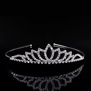 povoljno Party pokrivala za glavu-Kristal / Umjetno drago kamenje / Legura tijare / Trake za kosu s 1 Vjenčanje / Special Occasion / Zabava / večer Glava