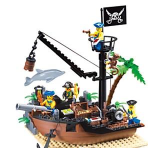 cheap Building Blocks-ENLIGHTEN Building Blocks Building Bricks Ship Building Toys Unisex Toy Gift / Kid's