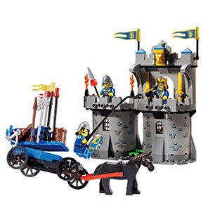 cheap Building Blocks-ENLIGHTEN Building Blocks Knight Building Bricks Castle Building Toys Unisex Toy Gift / Kid's