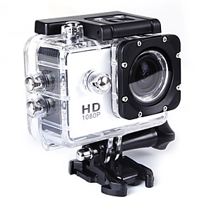 cheap Sports Action Cameras-QQT SJ4000 Gopro Gopro & Accessories Outdoor Recreation vlogging Outdoor / Mini / Portable 32 GB 15fps 8 mp / 6 mp No 1280 x 720 Pixel 2 inch CMOS H.264 Single Shot / Burst Mode 30 m ±2EV