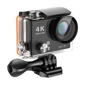 cheap Sports Action Cameras-QQT H2R vlogging Outdoor / Portable / All-In-1 64 GB 60fps / 120fps / 30fps 16 mp 8x 1280x960 Pixel 2 inch CMOS H.265 Single Shot 45 m -1/3