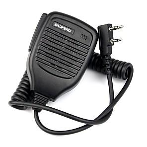 cheap Walkie Talkies-2Pin Handheld PTT Speaker Mic Microphone for BAOFENG Retevis TYT WOUXUN