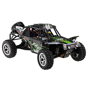 cheap RC Cars-RC Car WLtoys 18429 2.4G Buggy (Off-road) / Off Road Car / Drift Car 1:18 Brush Electric Remote Control / RC / Rechargeable / Electric