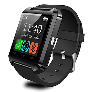cheap Smartwatches-U8 Smartwatch Watch  Bluetooth Answer and Dial the Phone Passometer Burglar Alarm Funcitons