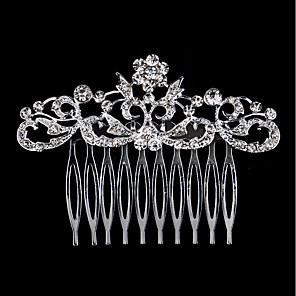 povoljno Party pokrivala za glavu-Umjetno drago kamenje / Legura Kose za kosu s 1 Vjenčanje / Special Occasion / Rođendan Glava