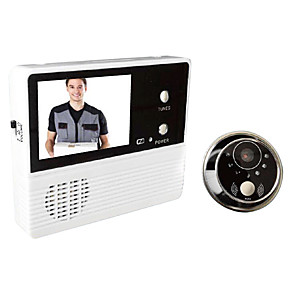 cheap CCTV Cameras-Wired 3.5 inch 240x320 Pixel One to One video doorphone