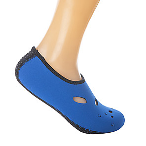 cheap Water Shoes & Socks-Men's Women's Water Socks Aqua Socks 3mm Rubber Neoprene Quick Dry High Strength Softness Barefoot Yoga Diving Surfing Snorkeling Boating Kayaking - for Adults