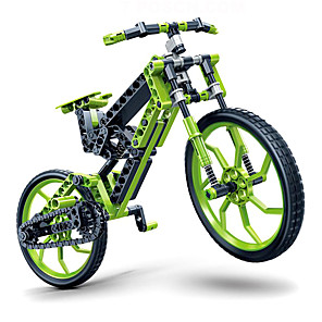 cheap Toy Cars-Toy Car Building Blocks 3D Puzzle Bicycle DIY Plastics Kid's Adults' Boys' Girls' Toy Gift / Educational Toy