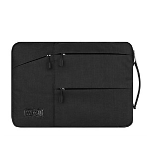 """cheap USB Hubs & Switches-15"""" Laptop Sleeves Fabrics Solid Color"""