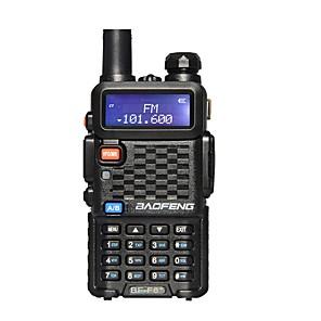 halpa Radiopuhelimet-baofeng bf-f8 + kädessä pidettävä hälytin 136-174mhz / 400-520 mhz fm kinkku kaksisuuntainen radiopuhelinvastaanotin